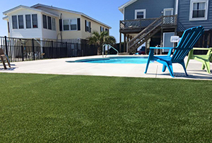 A Custom Pool installation in Wilmington, NC