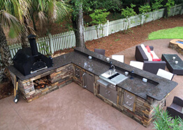 Carolina Creations' Outdoor Kitchen Gallery