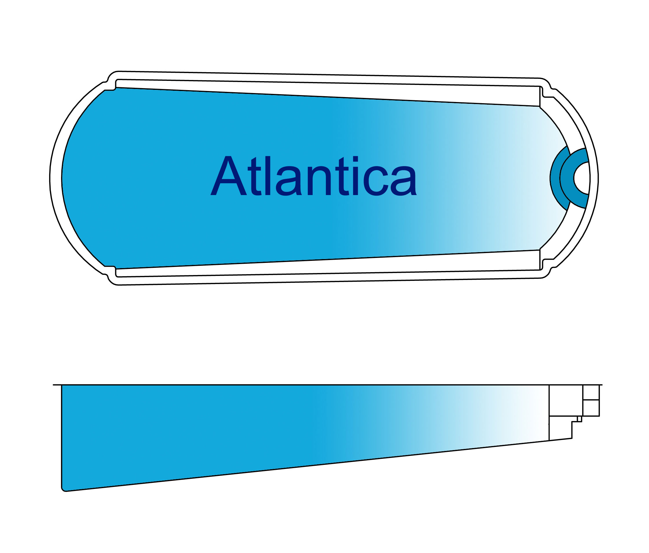 Atlantica Fiberglass Pool Design