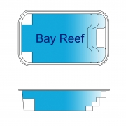 Bay Reef Fiberglass Pool Design