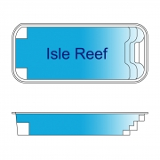 Isle Reef Fiberglass Pool Design