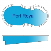 Port Royal Fiberglass Pool Design