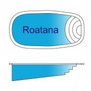 Roatana Fiberglass Pool Design